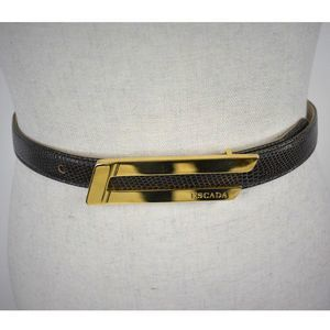 Escada frame style made in Italy belt 34